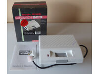 Unused Vintage / Retro 1990's Morphy Richards Sandwich Toaster Model 44542/2 Brand New In Box