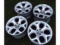 "BMW 20"" Inch Alloy Wheels X3 X5 X6 E60 5 Series Rim Style 214 Staggered Genuine Alloys"