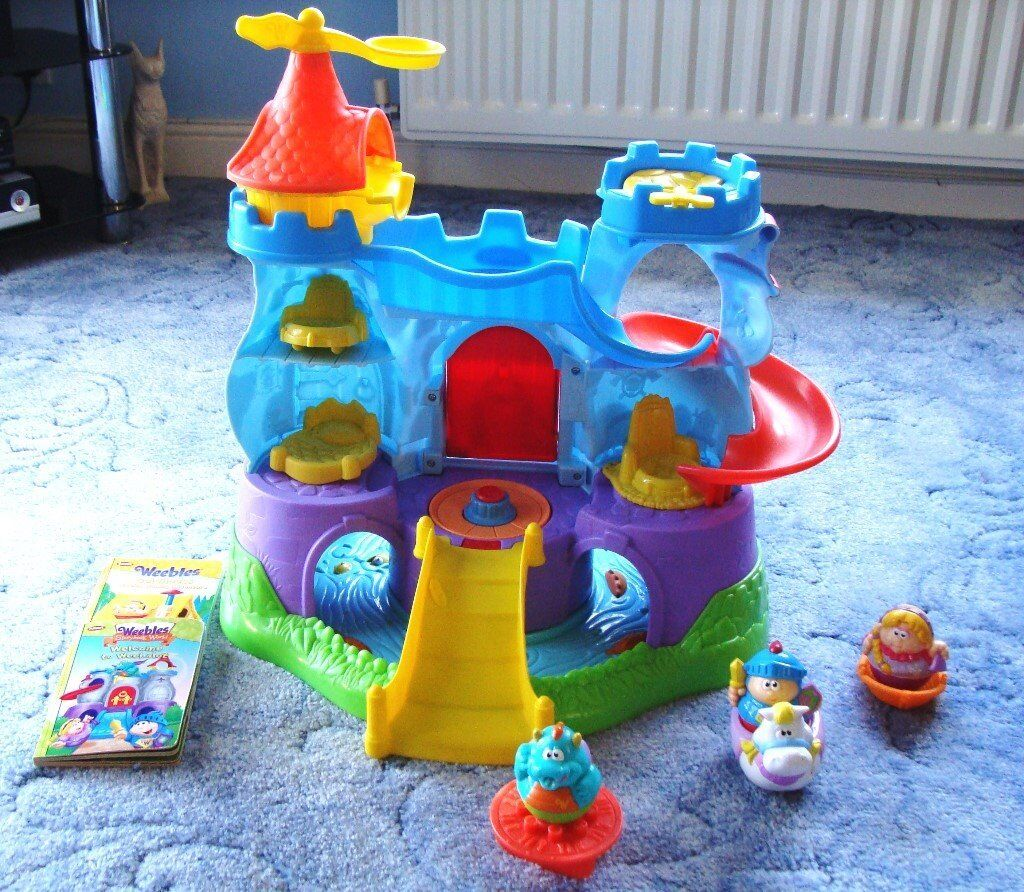 Playskool Weebles Weebalot musical castle - Bargain price for Christmas!