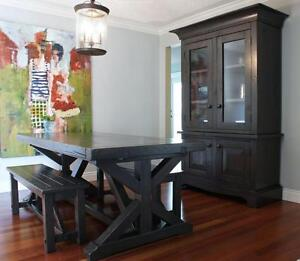 Locally Crafted: Reclaimed Wood Dining Table $2195 & more! LIKEN