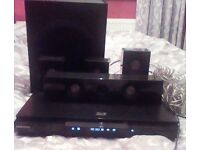 Samsung 3D Blu-ray player with surround sound