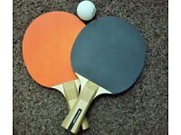 Urgently selling Ping pong bats