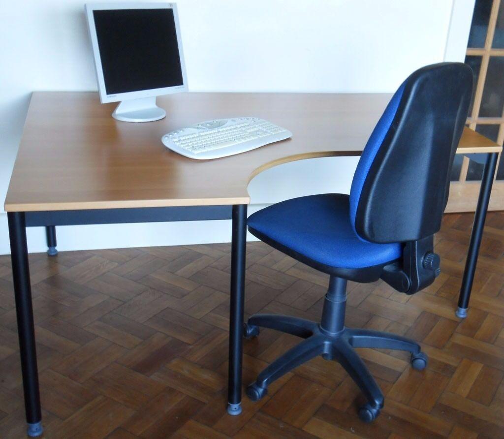 Ikea Effektiv High Quality Swedish Executive Style Computer Office Desk