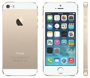 iPhone 5s 16GB Gold UNLOCKED ( including Freedom and Chatr ) MINT 10/10 $225 FIRM