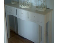 Shabby Chic Sideboard with Three Drawers