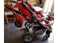 pushchair & stroller 2in1