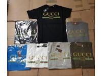 Gucci t shirts!! Many colours and sizes!!!!!