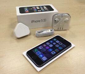 Space Grey Apple iPhone 5S 16GB Mobile Phone on Vodafone / Lebara / Talktalk Networks + Warranty