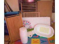 IKEA baby cot and nursery bundle