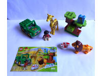 Lego Duplo Wildlife Set - 100% Complete With Instructions - Ideal Christmas Present