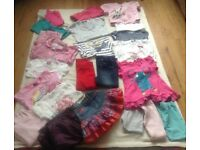 Bundle of Girls Clothes Age 4-5 Years For Sale