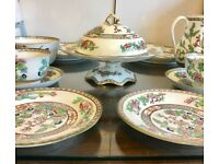 Coalport Indian tree set for 2
