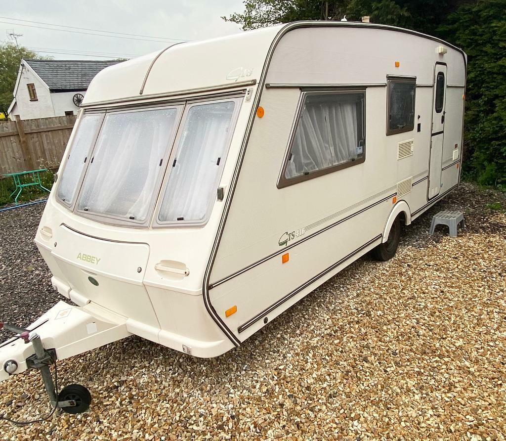 Abbie touring caravan 20 berth caravan for sale mod 20s   in Taunton ...