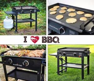 Gas-Flat-Top-Grill-Restaurant-Professional-Commercial-Griddle-Two-Burner- FREE SHIPPING