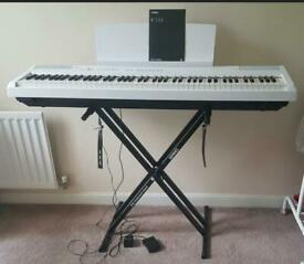 Yamaha P-105 digital Piano in beautiful white colour