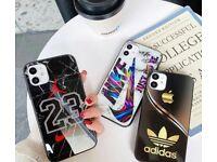 Nike Adidas Audi Merc Porsche Lamborghini Designer iPhone Cases 11 11 Pro/Pro Max 12 12 Pro/Pro Max