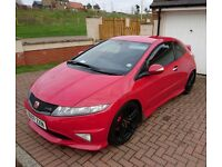 Honda Civic Type R FN2 Milano Red, Rage Alloys