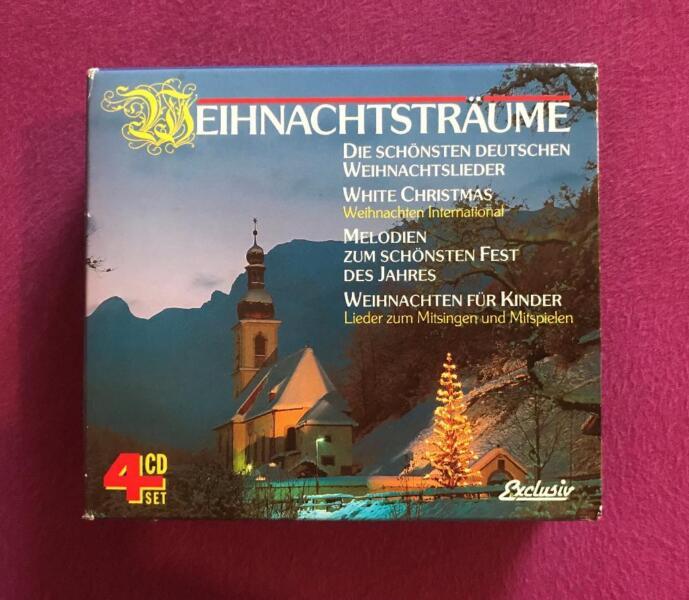 Weihnachtslieder International.4 Cds Mit Weihnachtslieder Im Sampler X Mas Songs
