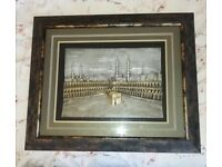 3D Old Mecca Picture Frame