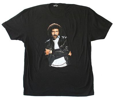 Lionel Richie All Night Long Pic Image Adult Black T Shirt New