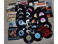 "Lot of 29 - 45s 7"" Records 1980s +1990s Different artists and labels Mo"