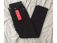 Levi's 511 Slim Fit Jeans - Black - 2 Way Comfort Stretch - Brand New With Tags - Worth £85