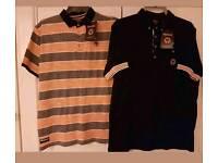 Wolverhampton wanderers polo shirts (x2). *Brand New* x2