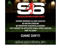 Widnes Monday and Wednesday 6aside league!