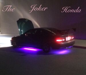 "1995 Honda Civic Dx ""a.k.a the Joker Honda """