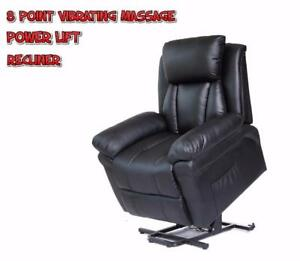 POWER LIFT RECLINER MASSAGE CHAIR HEATED WITH MASSAGE LC7132