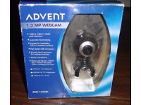 ADVENT ADE-1300K 1.3 MP WEBCAM NEW