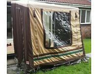 Caravan Salon porch awning