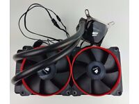 Corsair H100i V1 AiO Water CPU cooler with 120mm fan LGA 1155, 1156, 1366, 2011