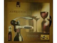 Bar Craft Connoisseur Deluxe Lever-Arm Corkscrew Gift Set