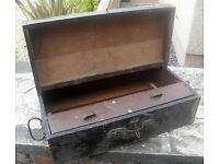 antique WW2 first aid box