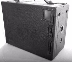 Klito Houghtons Box Plate Camera with Plates.. Antique Collectors item