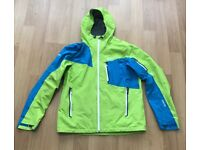 Marmot Men's Silverton Gore-Tex Pro Jacket - Lime Green/Methyl Blue, Large