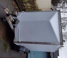 TWIN AXLE BOX TRAILER SET UP FOR KARTING