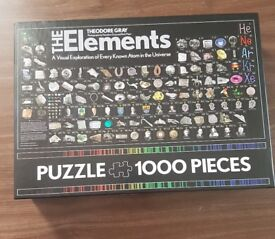 "1000 piece Jigsaw ""The Elements"""