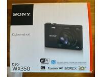 Sony Cybershot WX350 18MP 20x Zoom Compact Digital Camera