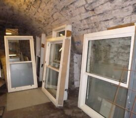 1no Sliding Timber Window (roped/weights) Never Installed (1330 x 1780mm )