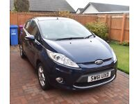 FORD FIESTA ZETEC 1.4 LOW MILEAGE **REDUCED PRICE**