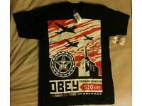 OBEY original Tshirt with tags - Size: Small - Brand New