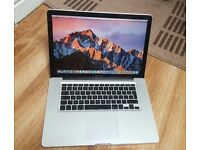 "Apple MacBook Pro A1286 ,15.4"", Intel Core i5 , 2.40GHz,500GB HDD,4GB Ram"
