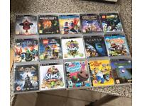 PS3 games all in excellent condition 15 games in total
