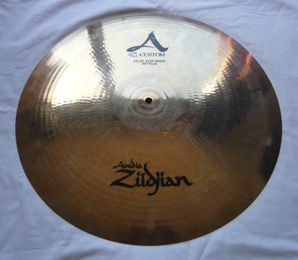 "Zildjian A Custom 20"" Flat Ride"