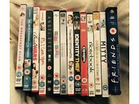 Chick Flick / Comedy DVD Collection of 14 - The Notebook, Clueless, P.s I Love You, FRIENDS etc.