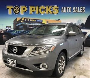 2015 Nissan Pathfinder LEATHER, SUNROOF, NAVIGATION, 4X4, AND MO