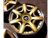 20'' Bentley mulliner alloy wheels 5x112