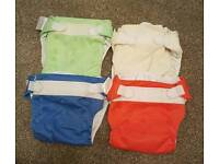 Bundle of 20 Bumgenius v3 cloth nappies/liners